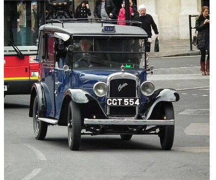 実車のタクシー1