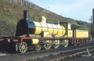 実機のハイランド鉄道の機関車