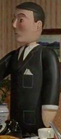 TV版第7シーズンのトップハム・ハット卿の執事