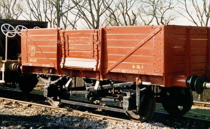4型無蓋貨車のモデル車
