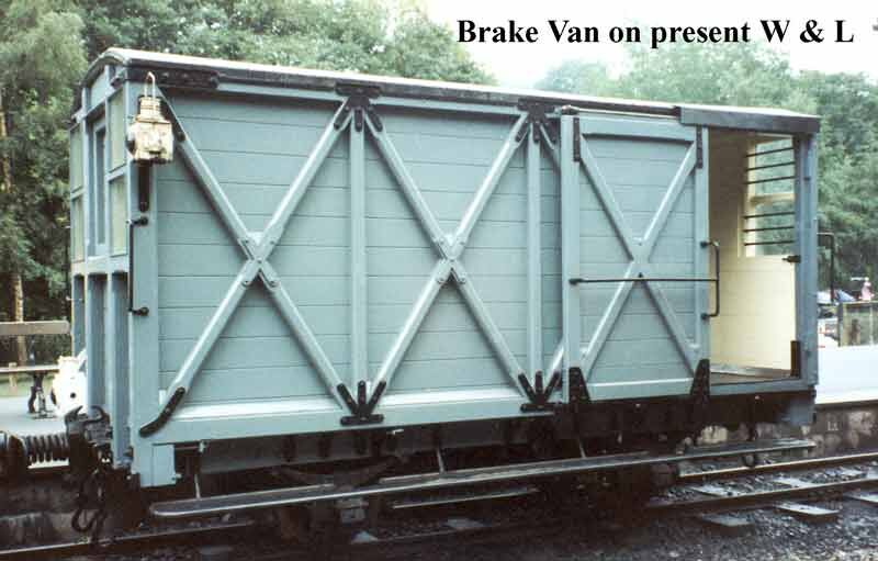 ウェルシュプール&スランフェア軽便鉄道のブレーキ車のモデル車