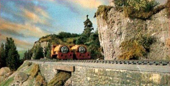 TV版第3シーズンの滝のある橋(未公開シーン)