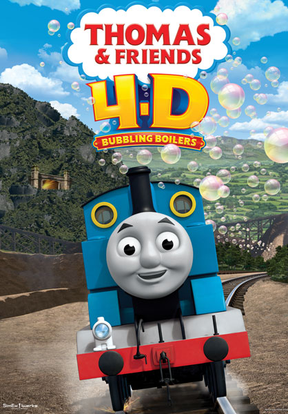 Thomas & Friends in 4-D: Bubbling Boilers