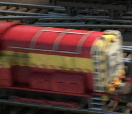 TV版長編第12作のメインランドのディーゼル機関車