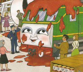 マガジンストーリーでジャム塗れのデイジー