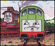 マガジンストーリーでロッキーと共に居るボコ