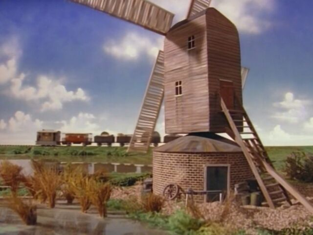 TV版第1シーズンの箱型風車(逆向き)