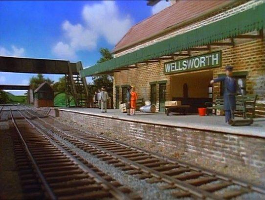 TV版第2シーズンのウェルズワーズ駅