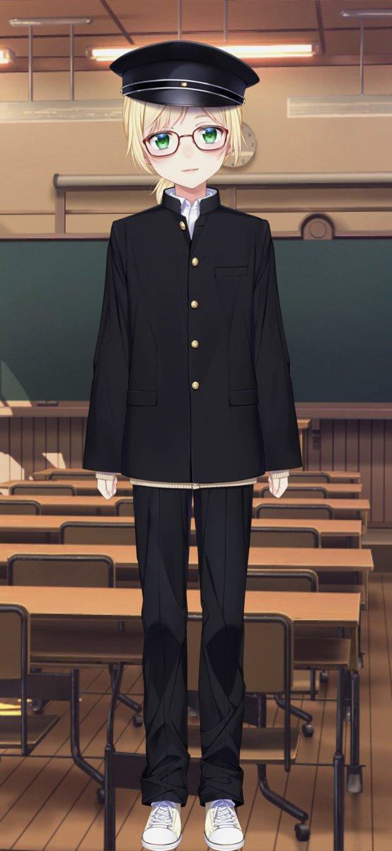 5万人記念衣装(学生服)