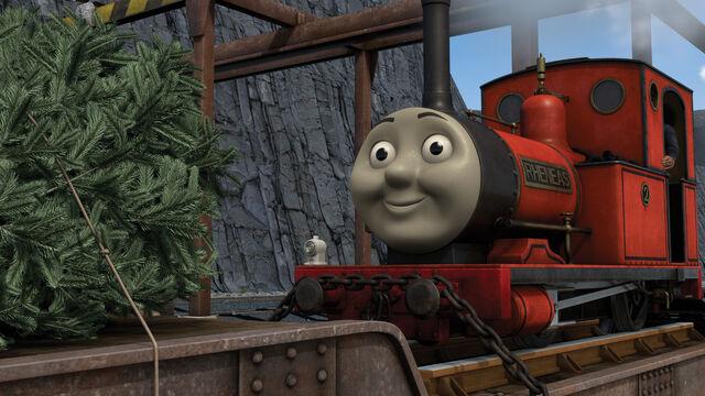 クリスマスツリーをさがせ