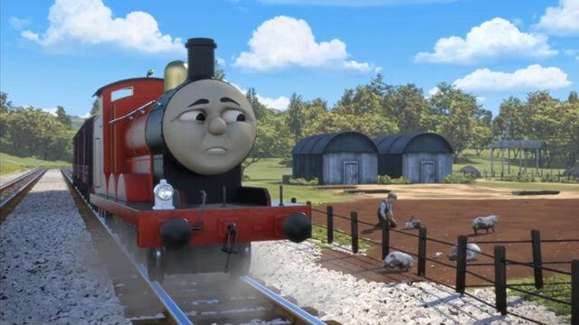 TV版第23シーズンでジェームスと共にいるウィリー