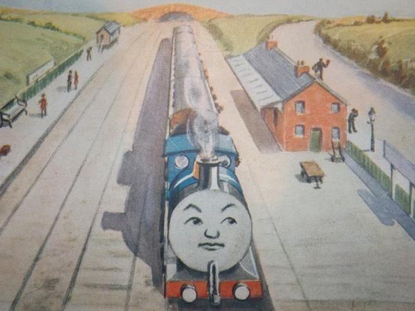 ウィリアム・ミドルトンが描いたクロンク駅