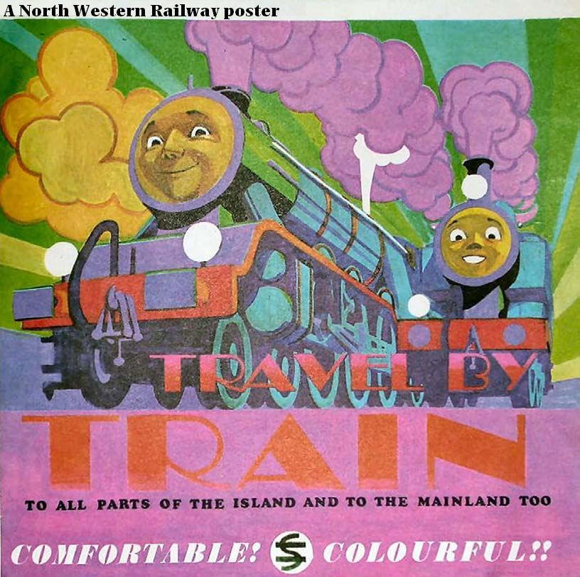 ノース・ウェスタン鉄道のポスター