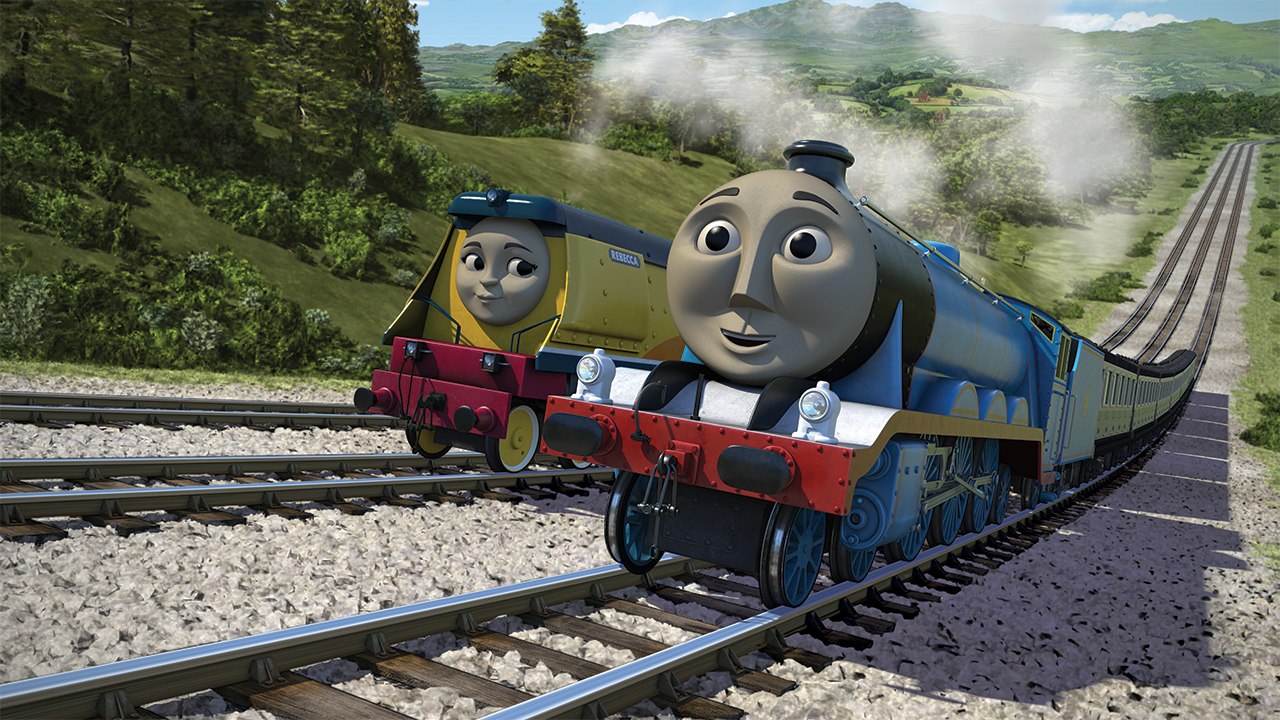 Gordon and Rebecca, Coming Through!