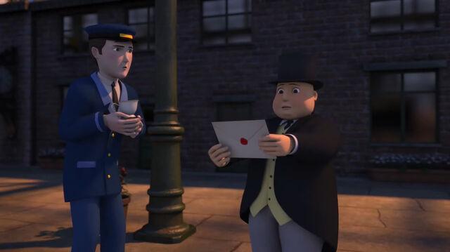 TV版第24シーズンのパーシーの機関助手