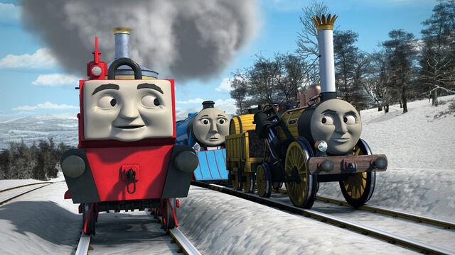 グリンとスティーブンのレース
