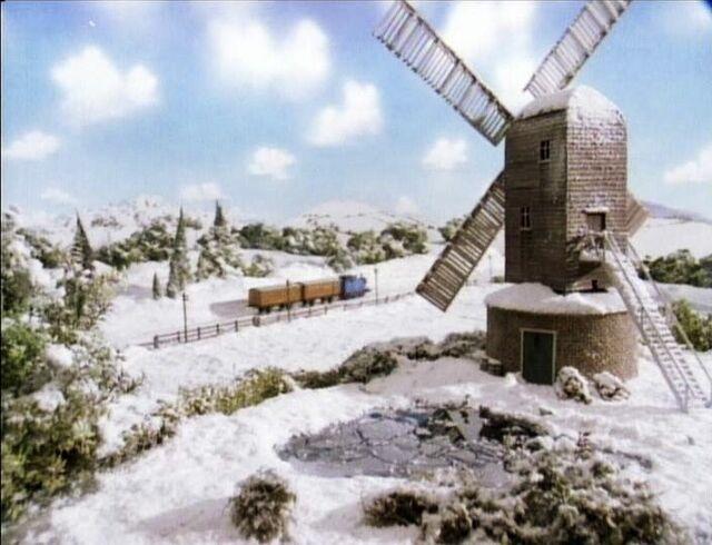 TV版第3シーズンの箱型風車
