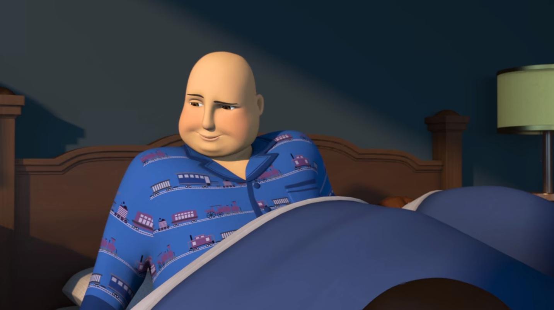 TV版第24シーズンのトップハム館(寝室)