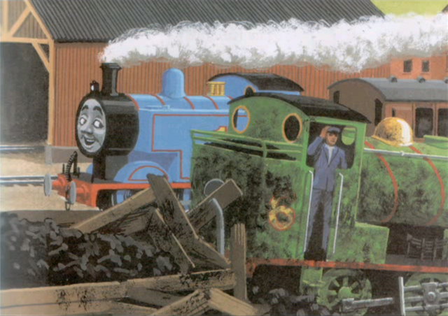 Thomas, Percy and the Coal