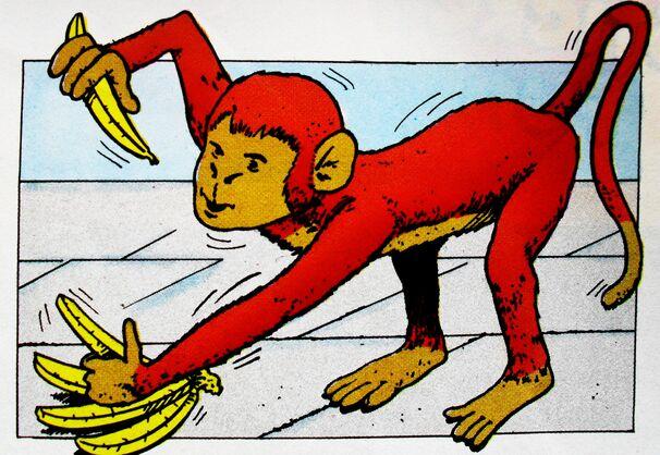 マガジンストーリーの猿