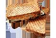 グリルしたサンドイッチ