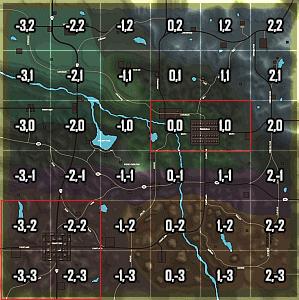 Map 7 Days To Die.Navezgane 7 Days To Die Japan Wiki
