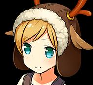 トナカイ帽子