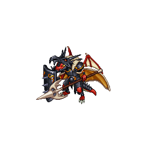 纏炎の騎士竜