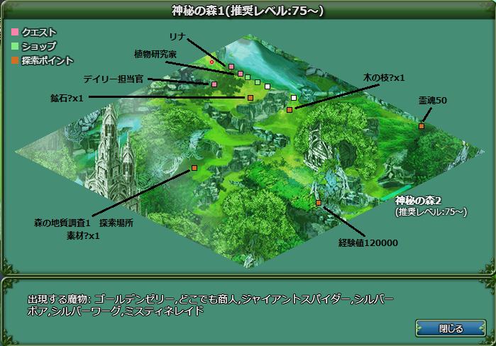 神秘の森1