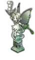 妖精の彫像