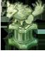 魔狼の彫像