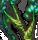 アルヴ達の村の奥に存在していた巨大な樹木の苗木。魔物使いの根幹たる霊魂を産出する、とても大切な置物。