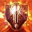 [内面のバリア] ラカンが内面世界に転換し、プレイヤーの攻撃を防御するバリアを生成しました。(100分持続)