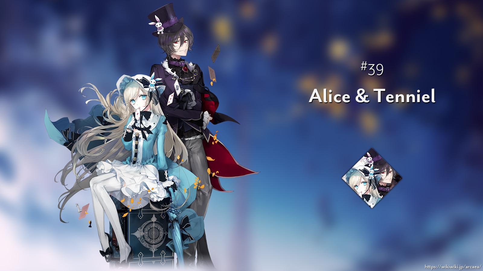 Alice & Tenniel