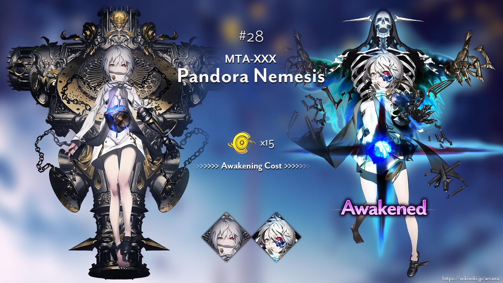 MTA-XXX Pandora Nemesis