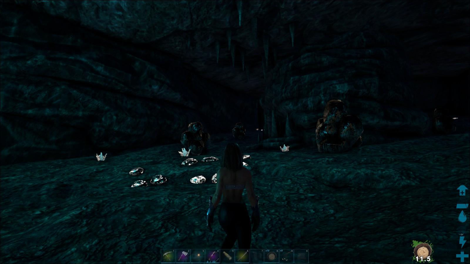 洞窟 狡猾 の