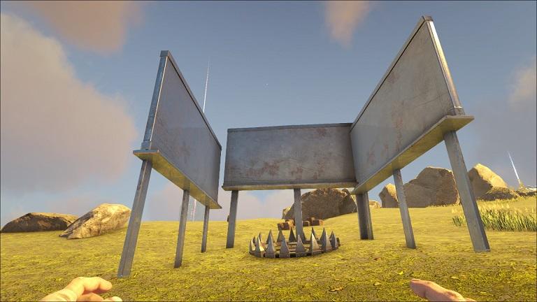 トラバサミ Ark