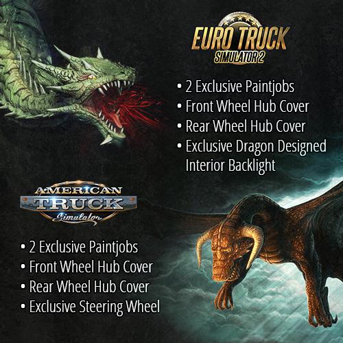 Dragon Truck Design Pack