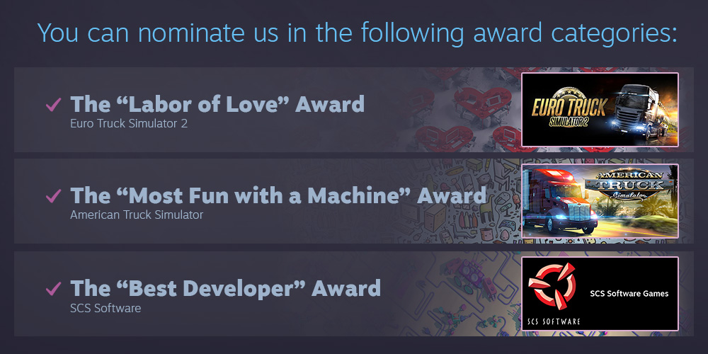 Steam Awards 2018 Nominations!