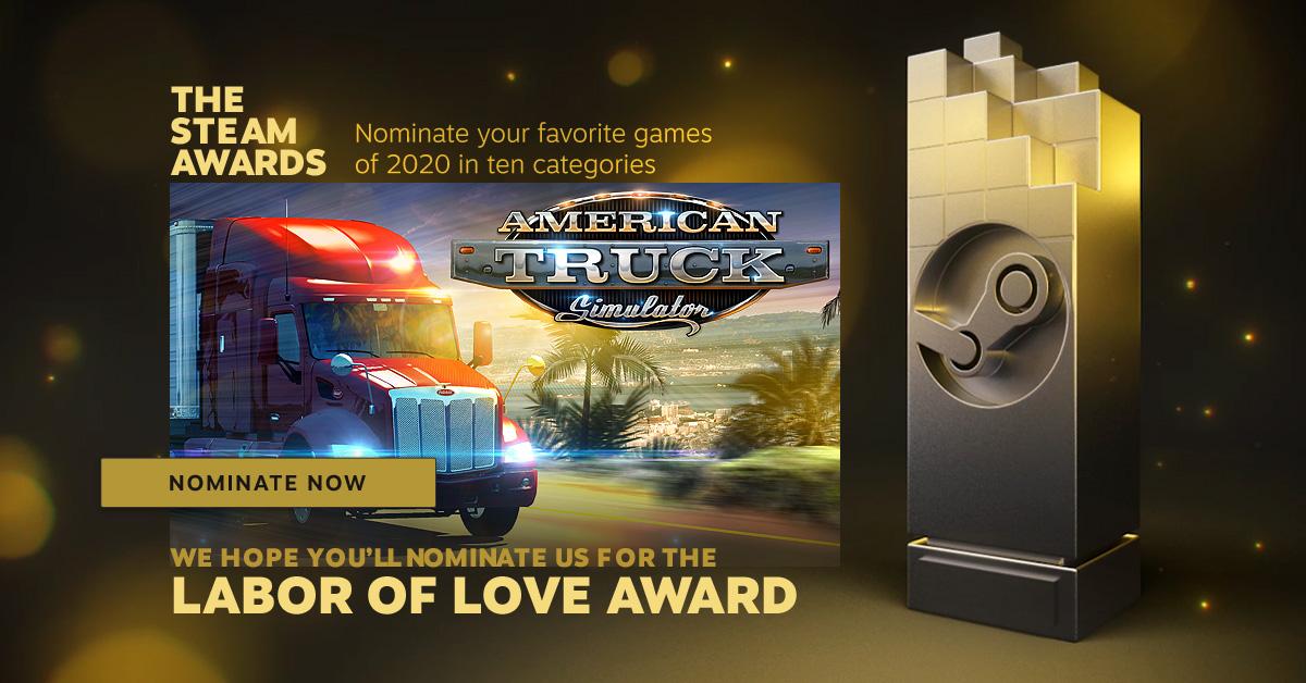 Steam Awards 2020 Nominations ATS