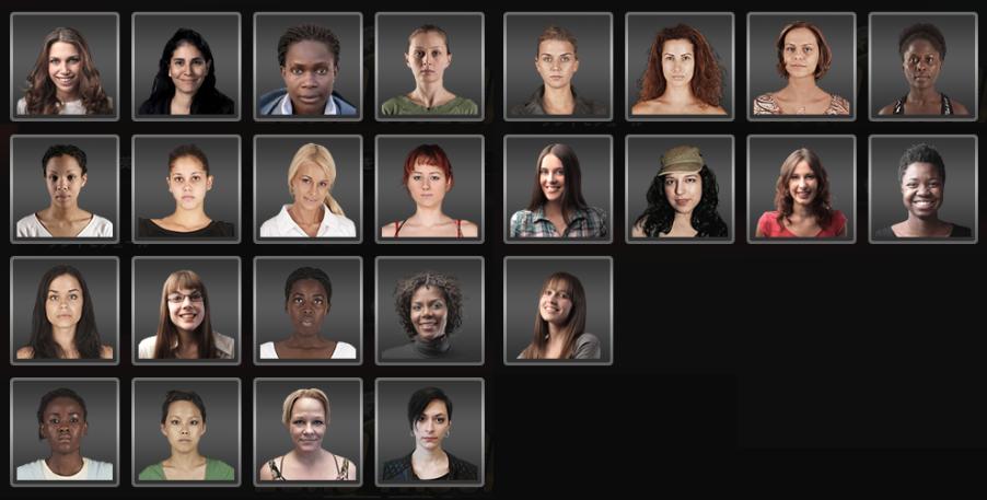 女性ライセンス写真2