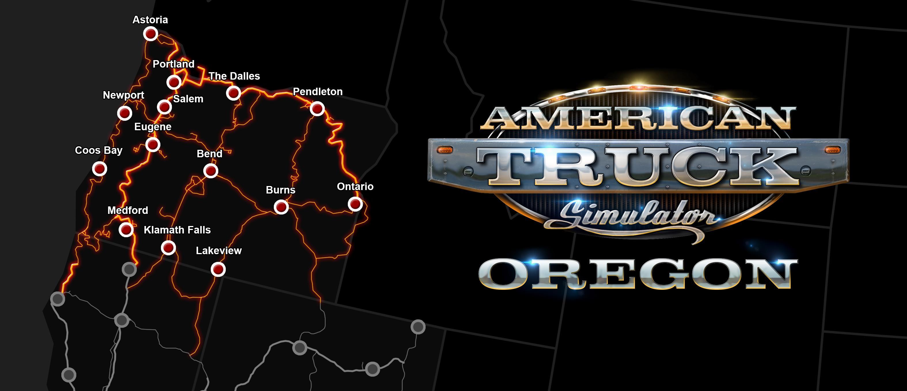 Oregon-Map
