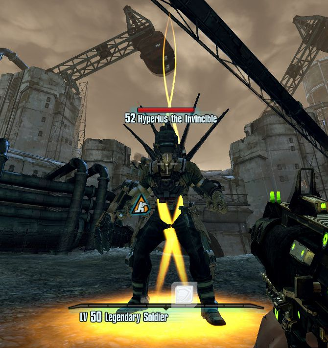 Hyperius the Invincible - Borderlands2(ボーダーランズ2) Wiki*