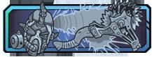 バズ アックス ランペイジ:ジャイアントバズアックスで近接攻撃と遠隔投擲。移動速度増加、近接威力500%。キルでライフ回復。クールダウン120秒。ダメージを受けるとクールダウン速度増加。