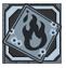 デリュージョン ダメージ:ステータス効果付与で自分発火の可能性。確率はバーンベイビー!とフューエルファイヤーに依存。