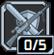 ビー ライク ウォーター:敵を撃つと次の近接攻撃ダメージ+6%、近接攻撃を行うと次の射撃ダメージ+4%