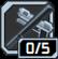 カウンター ストライク:敵の攻撃がヒットすると、次の近接攻撃ダメージ+50%
