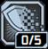 フィアレス:シールドが切れている間発射速度+5%、射撃ダメージ+3%