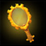 注視の鏡(ゴールド)