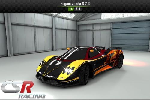 CsrRacing1/Zonda S 7.3 - CSR Racing Wiki*
